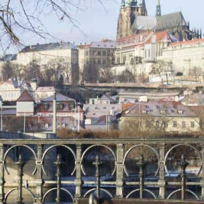 Praga in inverno